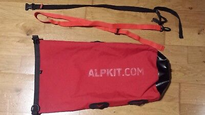 Alpkit Airlok Xtra 8L dry bag for bike packing and hiking
