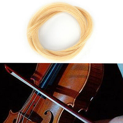 1x 32 inch 80cm white violin viola cello hair bow hair hot sale