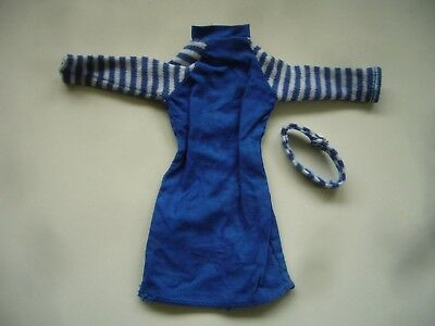 Vintage 1967 Palitoy Dress & Hairband for Mary Make Up Doll - Tressy Friend