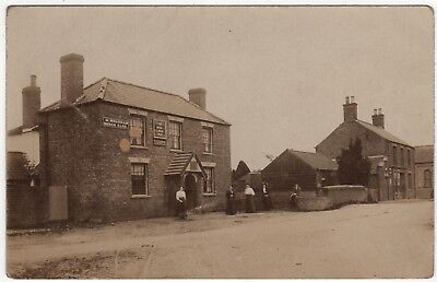 Real Photo Postcard Of The Red Lion Inn, Great Steeping, Spilsby , Lincolnshire