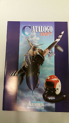 Armour Collection Catalogo 1997 Die-cast 1:100 Planes Flugzeuge and 1:8 helmets