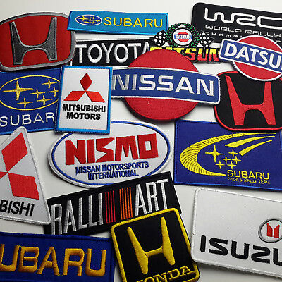 JAPANESE CAR MARQUE  DISCOUNT PATCH SHOP - Low Prices, UK Seller, Fast Free Post
