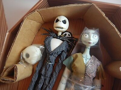 Nightmare Before Christmas Jack & Sally Rare Figurine Set Jun Planning