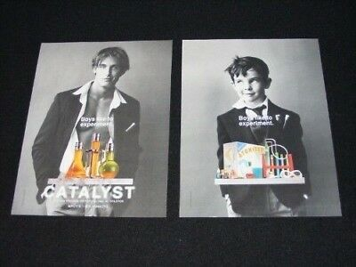 FRAGRANCE magazine clippings ads lot No2 assorted brands