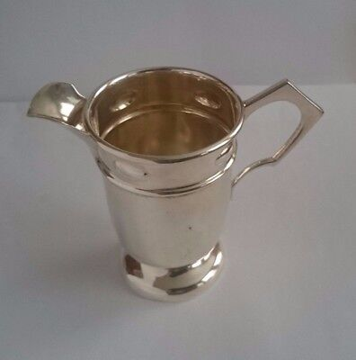 Antique English WILLIAM HUTTON & SONS Sterling Silver Creamer Old Marks- 80.7 gr
