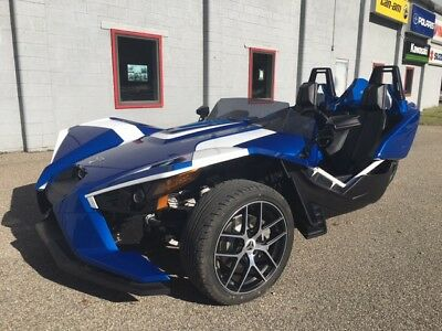 2016 Other Makes SLINGSHOT  UPER CLEAN 2016 POLARIS SLINGSHOT SL LE BLUE FIRE 3 WHEELED CYCLE CALL ADAM