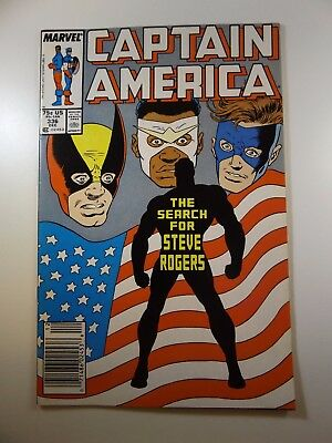 """Captain America #336 """"The Search for Steve Rogers!"""" Sharp VF Condition!!"""