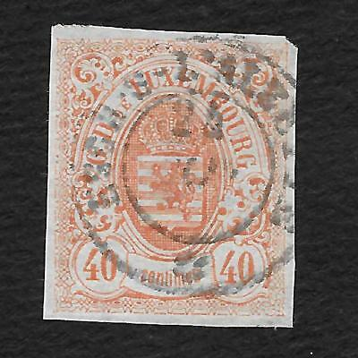 Luxembourg N°11 Luxemburg Timbre Stamp Briefmarke