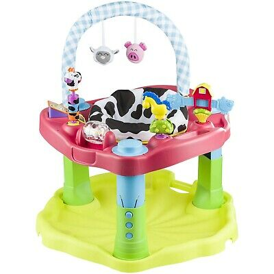Evenflo Exersaucer Bounce & Learn Activity Center Moovin & Groovin
