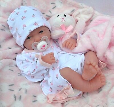 PJs ❤ Lil` Lamb ❤ BERENGUER LA NEWBORN REALISTIC BABY GIRL DOLL FOR REBORN /PLAY