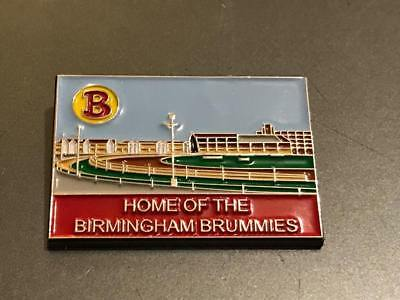 Birmingham Brummies---Perry Barr---2017---Speedway Stadium Badge---Gold Metal