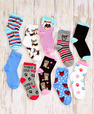 The Lakeside Collection Dog Breed Socks Yorkie