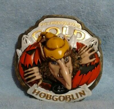 Wychwood Hobgoblin Gold 3D Flashing Pump Clip *NEW*
