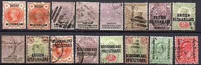Bechuanaland  Used Stamps Almost All Q Victoria