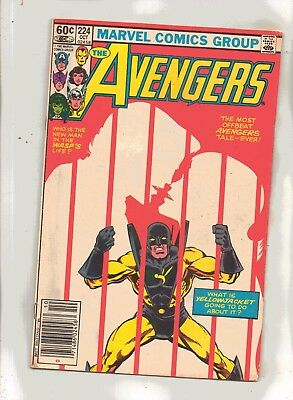 THE  AVENGERS No 224 The Most Offbeat Avengers Tale--Ever!
