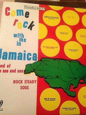 Come Rock With Me In Jamaica -Vinyl LP-Various Artists - Rock Steady Soul