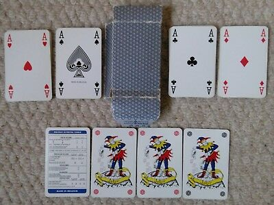 Playing cards made for Shell Petroleum by Carta Mundi in Belgium c1970s/80s