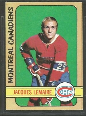1972-73 Opc (O-Pee-Chee) Nhl Hockey: #77 Jacques Lemaire, Montreal Canadiens, Nm