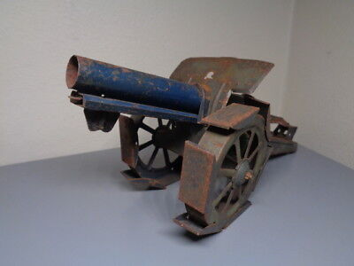 Bing , Tippco , Lineol Or Similar Vintage Tinplate Cannon Ultra Rare Item Good