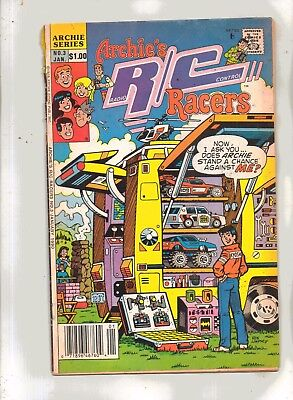 ARCHIE'S RC RACERS No 3 with JUGHEAD, BIG  ETHEL, DILTON, BETTY and VERONICA
