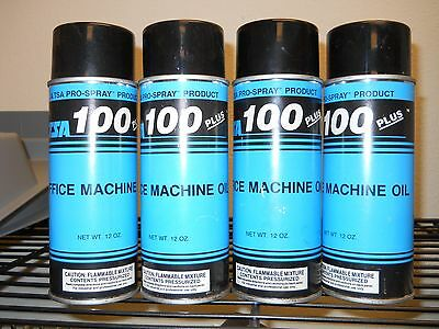 (4 cans) Office Machine Oil - Tech Support Associates