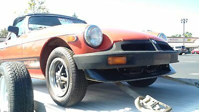 1978 MG MGB  1978/78 MG/MGB British Roadster
