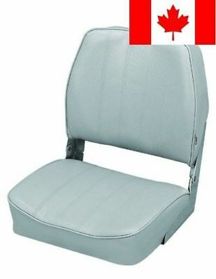 The Wise Company Embossed Vinyl Standard Folding Boat Seat, Grey