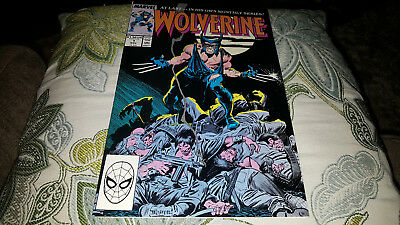 Wolverine #1 (Nov 1988, Marvel) NM-.....1ST. WOLVERINE AS PATCH!!!!...A BEAUTY!!