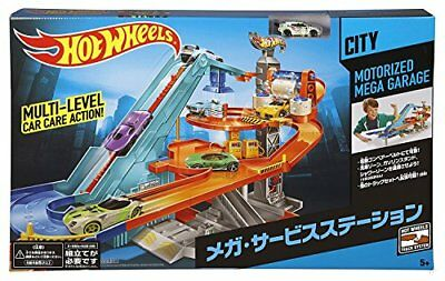New Mattel Hot Wheels MOTORIZED MEGA GARAGE (BGJ18) Japan F/S
