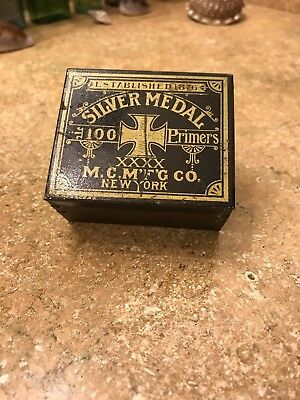 SILVER MEDAL Primers Tin