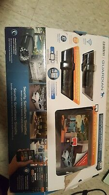UNIDEN GUARDIAN G755 SURVEILLANCE SYSTEM WITH one CAMERA & MONITOR-BRAND NEW!!!