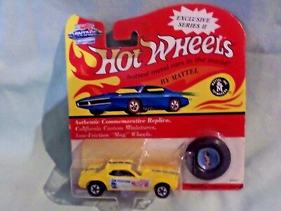 94 Hot Wheel Vintage Don Prudhomme Snake Funny Car Yellow Factory Sealed