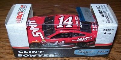 Clint Bowyer #14 Haas Automation 2017 1/64 Action Diecast Car