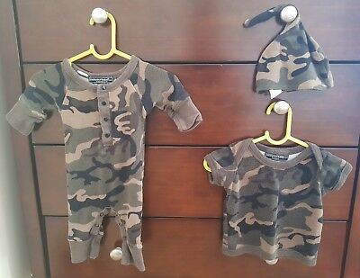 Rock Your Baby Camo set size 000 and 00