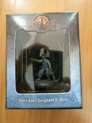 Sergeant A. Borz Hero Box UNA AT-43 Rackham