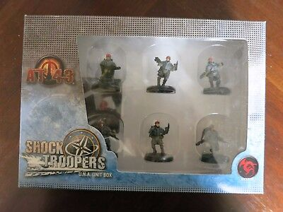Shock Troopers UNA Unit Box AT-43 Rackham