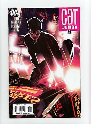 Catwoman #59 Adam Hughes Cover (DC 2006) NEAR MINT+