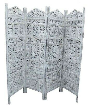 Hand carved Elephant screen