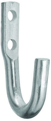 Rope Hook Zinc 2In