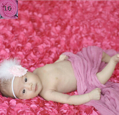 Newborn baby infant boy girl wrap swaddle Cheesecloth Photography photo props 16