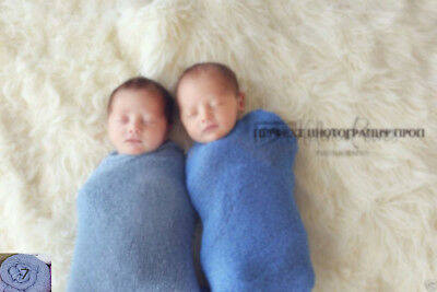 Newborn baby infant boy girl wraps swaddle Cheesecloth Photography photo props 7