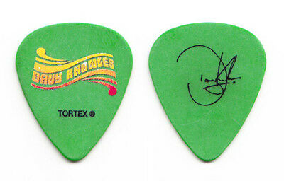 Davy Knowles Green Signature Guitar Pick - 2011 Tour