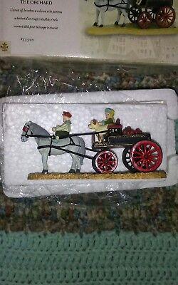 "Department 56 Seasons Bay "" Back From The Orchard"" Collectable Churstmas"