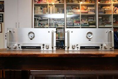 A Pair of Marantz Model 9, Original Rack-Mounted Version, with Papers, Very Rare