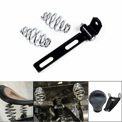 3'' Solo Seat Spring Mounting Bracket Kit for Harley Custom Chopper Bobber