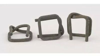 PAC STRAPPING PRODUCTS XHDB-6A Strapping Buckle,3/4 In.,PKG Quantity:100