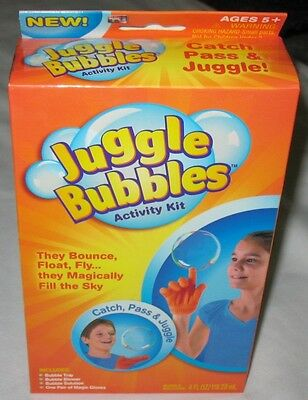 Juggle Bubbles Activity Kit Catch Pass & Juggle As Seen on TV New