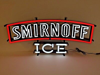 """Smirnoff Ice LED Sign Opti Neon - NEW In Box & Free Shipping  - 24.5"""" X 11.5"""""""