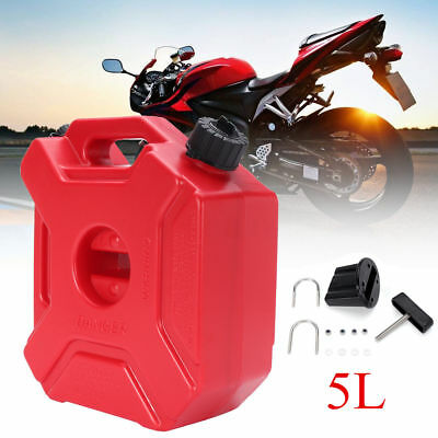 5L Boat ATV Motorbike Jerry Can Spare Fuel Diesel Petrol Container Carrier Drum