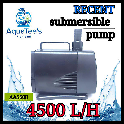 Recent Aa5600 Submersible Pond Aquarium Water Pump 4500L/h Marine Fountain Fish